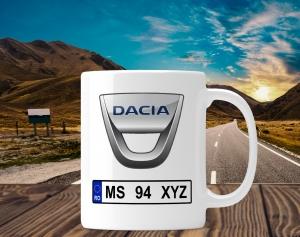 Cana personalizata Auto - Dacia0