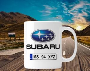 Cana personalizata Auto - Subaru0