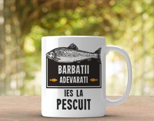 Cana Personalizata - Barbatii Adevarati Ies La Pescuit0
