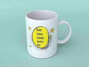 Cana personalizata - Beau cafea pentru binele tau0