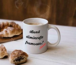 Cana personalizata - Buna Dimineata + Nume [0]