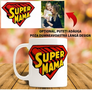 Cana personalizata 8 martie - Supermama0
