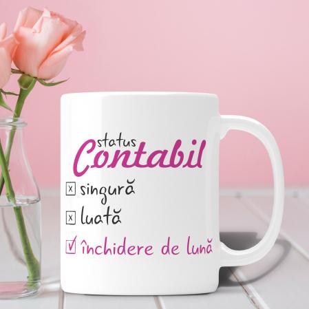 Cana Personalizata - Contabil, Inchidere De Luna [0]