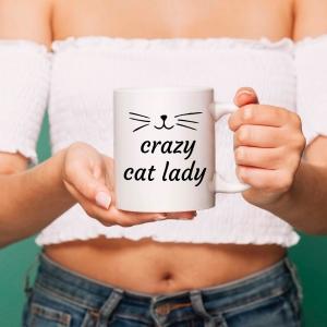 Cana personalizata - Crazy Cat Lady0