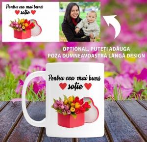 Cana personalizata Cu Poza - Cea Mai Buna Sotie1