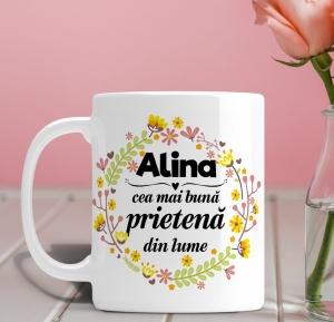 Cana personalizata Cu Poza - Cea Mai Buna Prietena0