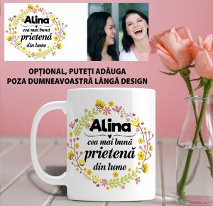 Cana personalizata Cu Poza - Cea Mai Buna Prietena1