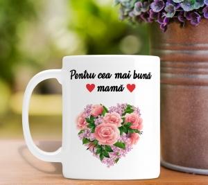 Cana personalizata Cu Poza - Cea Mai Buna Mama [0]
