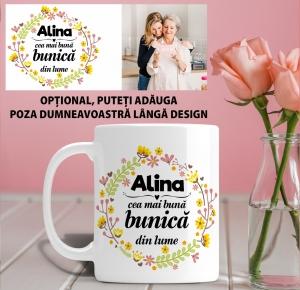 Cana personalizata Cu Poza - Cea Mai Buna Bunica [1]