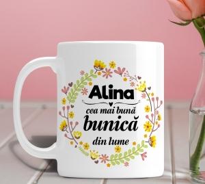 Cana personalizata Cu Poza - Cea Mai Buna Bunica [0]