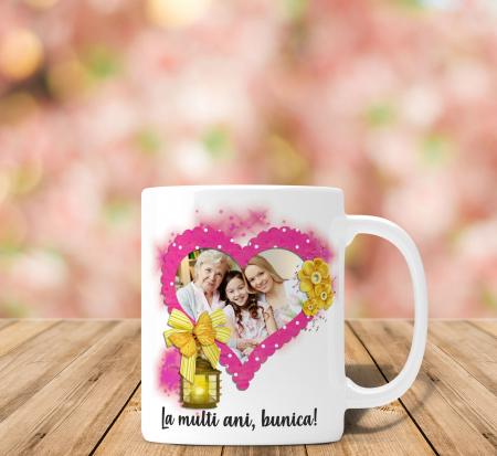 Cana personalizata Cu Poza - La multi ani Bunica0