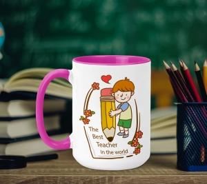 Cana Personalizata - The Best Teacher0