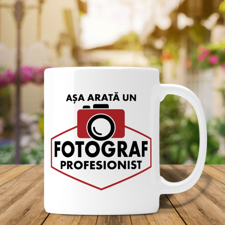 Cana Personalizata Fotograf - Asa Arata Un Fotograf Profesionist [0]