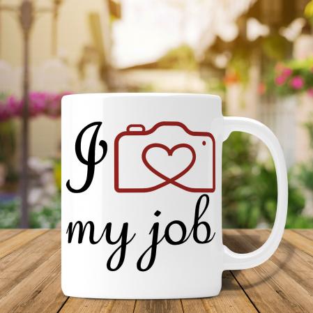 Cana Personalizata Fotograf - I Love My Job [0]