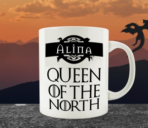 Cana Personalizata Game of Thrones - King / Queen Of The North1
