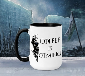 Cana Personalizata Game of Thrones - Coffee is Coming 20