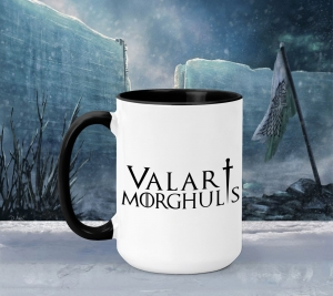 Cana Personalizata Game of Thrones - Valar Morghulis0