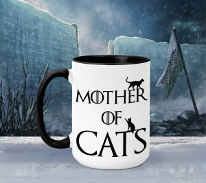 Cana Personalizata Game of Thrones - Mother Of Cats0