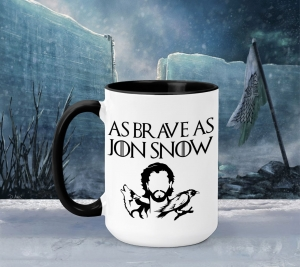 Cana Game of Thrones - As Brave As Jon Snow0