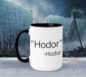 Cana Personalizata Game of Thrones - Hodor0
