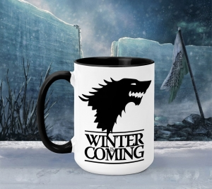 Cana Personalizata Game of Thrones - Winter Is Coming House Stark0