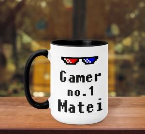 Cana Personalizata - Gamer No. 1 + Nume0
