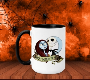 Cana Personalizata Halloween - Meant To Be0
