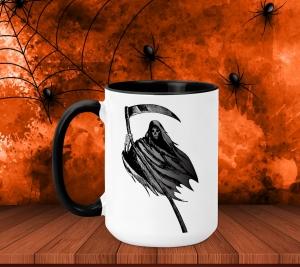 Cana Personalizata Halloween - Moartea0