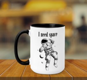 Cana Personalizata - I Need Space0