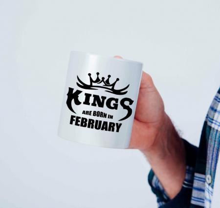 Cana personalizata - Kings are born in [0]