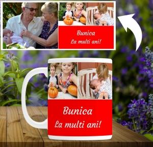 Cana personalizata - La multi ani bunica1