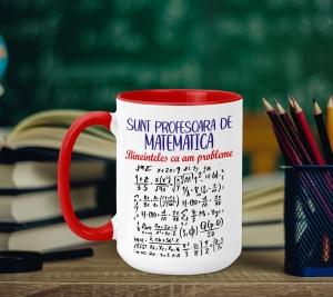 Cana Personalizata - Profesoara De Matematica0