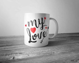 Cana personalizata - My Love [0]