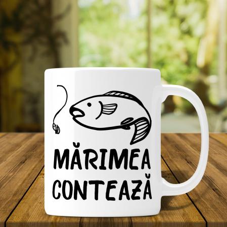 Cana Personalizata Pescar  - Marimea Conteaza [0]