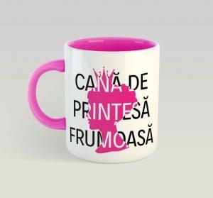Cana personalizata - Printesa0