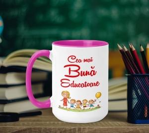 Cana Personalizata - Cea Mai Buna Educatoare0