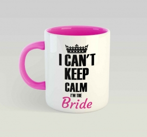 Cana personalizata - The Bride0