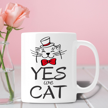 Cana Personalizata - Yes We Cat [0]