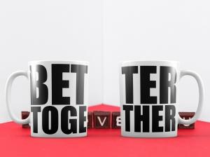 Cani Personalizate Cuplu - Better Together0