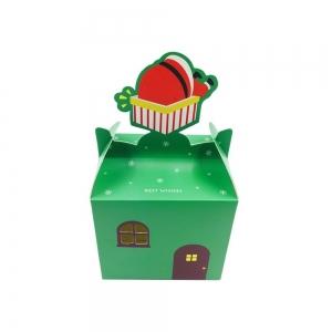 Cutie Cana De Craciun - Verde [0]