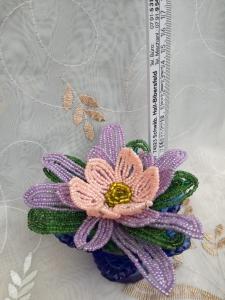 Flori decorative din margele M130