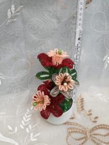Flori decorative din margele M10 [1]