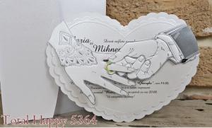 Invitatie nunta cod 53641