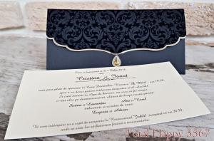 Invitatie nunta cod 55670
