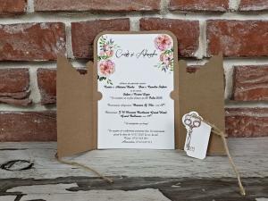 Invitatie nunta cod 55915