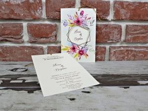 Invitatie nunta cod 56042
