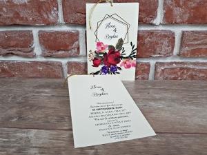 Invitatie nunta cod 55982