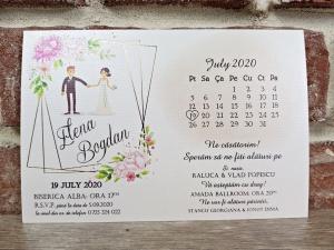 Invitatie nunta cod 56360