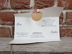 Invitatie nunta cod 56225