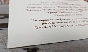 Invitatie nunta cod 56246